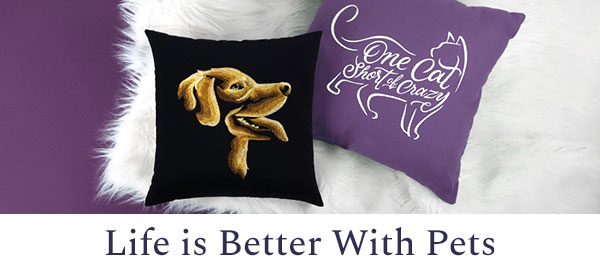 Urban Threads - Life is Better With Pets