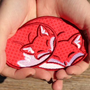 Urban Threads - Patch of the Month: Cozy Fox