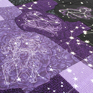 Urban Threads - Featured Collection: Ecliptic Constellations