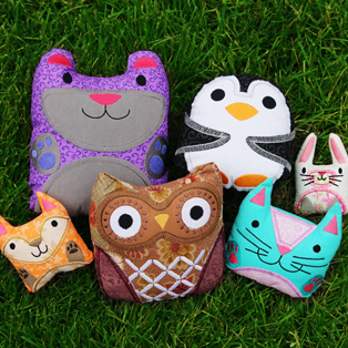 Urban Threads - Stitch and Turn Stuffies with Applique Tutorial