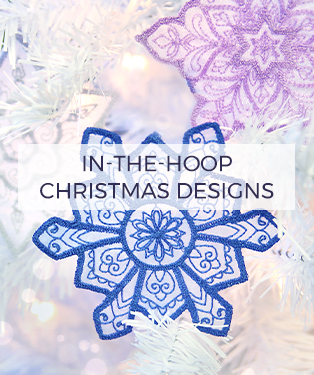 Urban Threads - In-the-Hoop Christmas Designs
