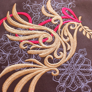 Urban Threads - Featured Collection: Baroque Noel