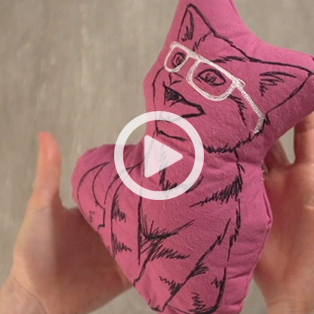 Urban Threads - Turn Any Design into a Plushie Video
