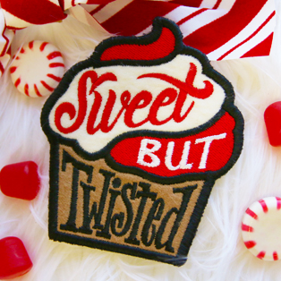 Urban Threads - Patch of the Month: Sweet But Twisted