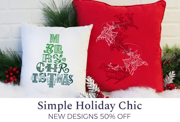 Urban Threads - Simple Holiday Chic