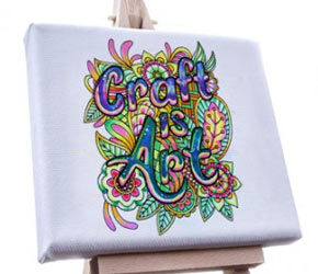 Craft Is Art Coloring Contest