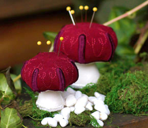 New: Mushroom Pincushion