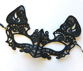 Kitty Cat Mask (Lace)