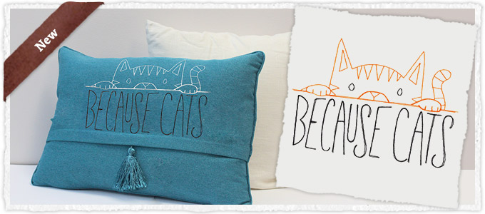 New Design - Because Cats