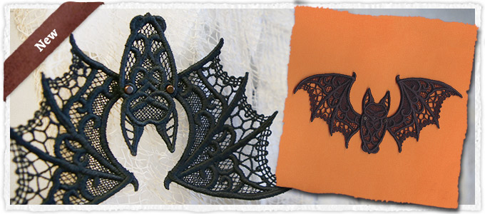 New Design - Batty Beauty (Lace)