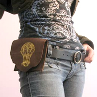 Leather Hip Pouch_image
