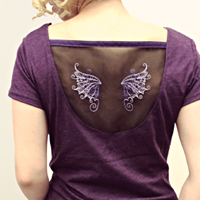 Floating Wings Tee_image