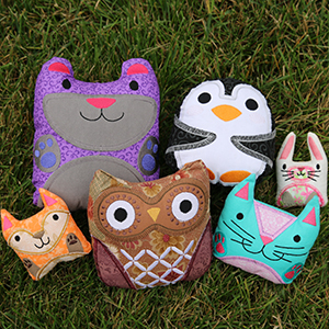 Stitch & Turn Stuffies with Applique_image