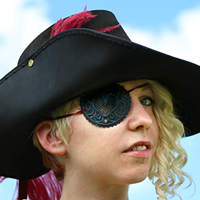 Lace Pirate Patch_image