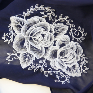 Embroidering on Sheer Fabric_image