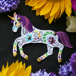 Freestanding Articulated Unicorn_image