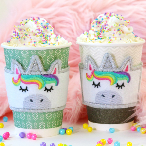 In-the-Hoop Unicorn Cup Cozy_image