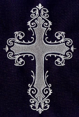 Gothic Cross Urban Threads: Unique and Awesome