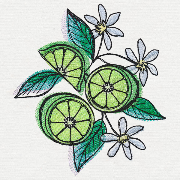 Summer tastes limes urban threads unique and awesome for Home decor 43068