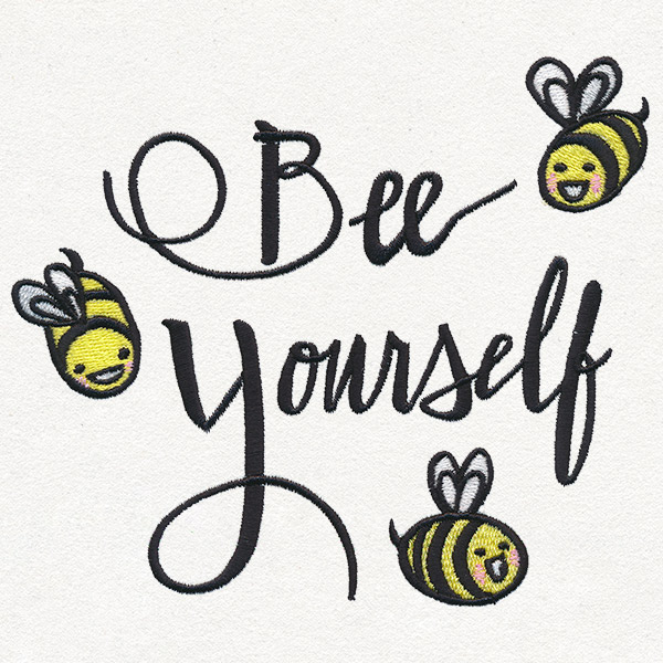 Bee yourself urban threads unique and awesome