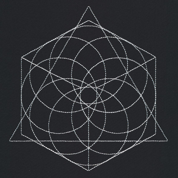 Sacred Geometry Square Urban Threads Unique And Awesome