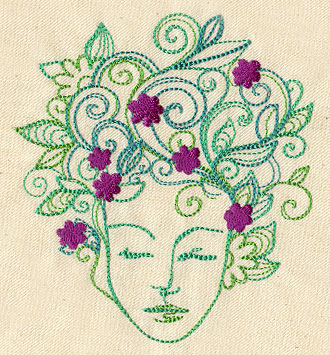 Earth Mother Urban Threads Unique And Awesome Embroidery Designs