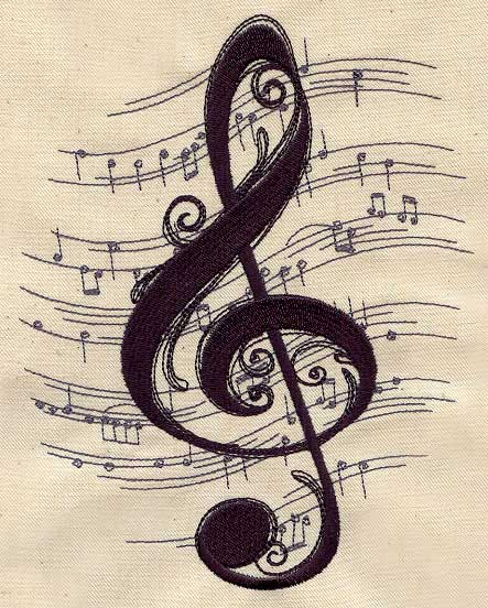 Tattoo Designs Related To Music: Urban Threads: Unique And Awesome