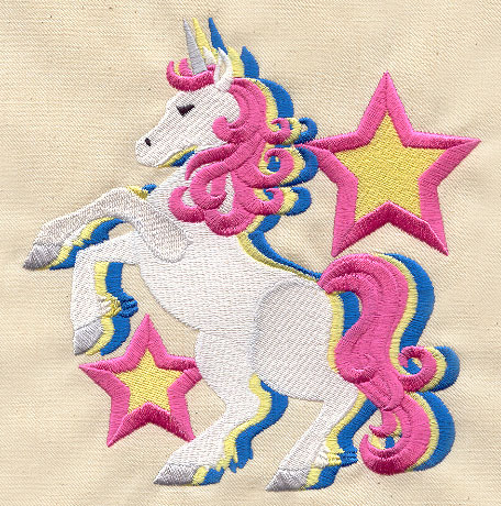 Magic Unicorn Urban Threads Unique And Awesome Embroidery Designs