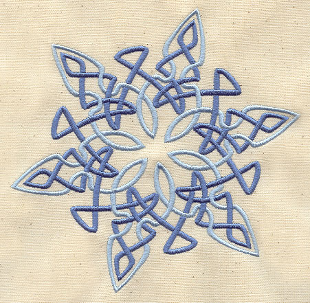 Celtic Snowflake Urban Threads Unique And Awesome Embroidery Designs