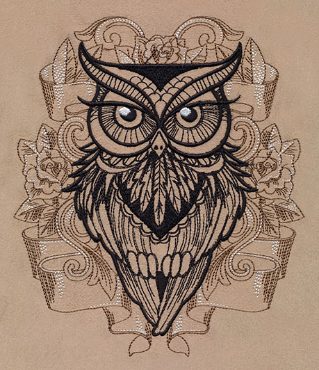 owl you need urban threads unique and awesome embroidery designs. Black Bedroom Furniture Sets. Home Design Ideas