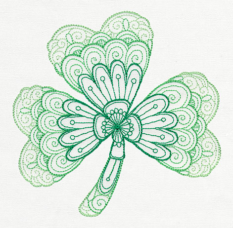 Luck O The Irish Urban Threads Unique And Awesome Embroidery Designs