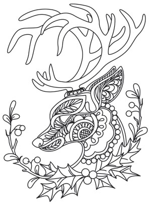 Coloring Pages With Intricate Designs