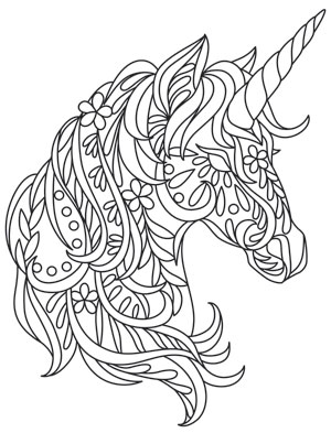 Gilded heraldry unicorn urban threads unique and awesome embroidery designs - Petit quick coloriage ...
