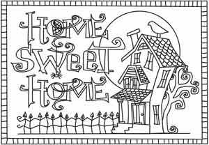 Home Sweet Home | Urban Threads: Unique and Awesome Embroidery Designs
