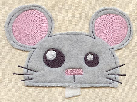 Cutting edge mouse applique urban threads unique and awesome
