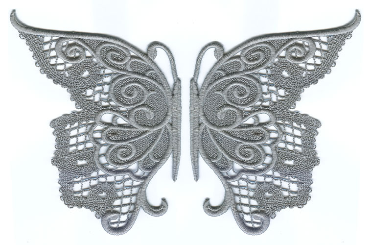 Evenfall Lace Butterfly Split Urban Threads Unique