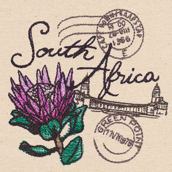 Passport To South Africa  Urban Threads Unique And