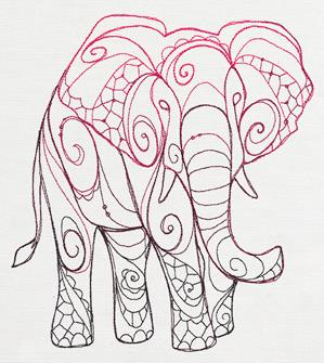 The Delicate Ones - Elephant_image