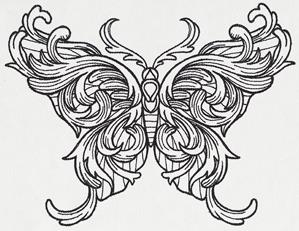 Engraved Butterfly_image