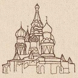 Passport to Russia  - St. Basil's Cathedral_image
