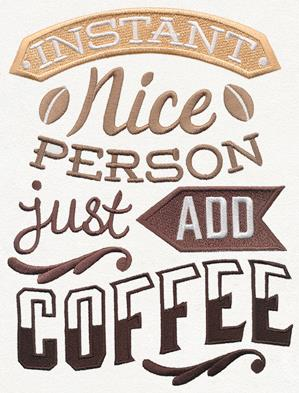 Coffee Break - Instant Nice Person_image