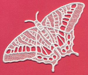 Chrysalis - Tiger Swallowtail (Lace)_image