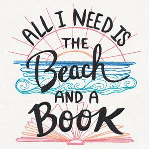 All I Need Is the Beach and a Book_image