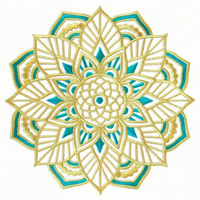Bohemian Gold - Lotus Medallion_image