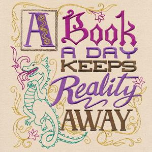 A Book a Day Keeps Reality Away_image
