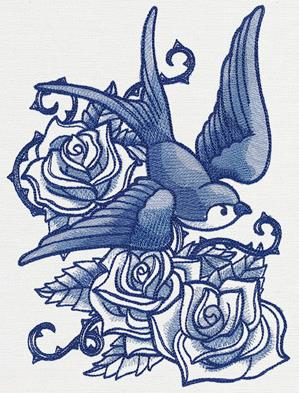 Delft Blue Swallow_image