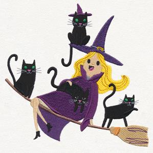 Crazy Cat Witch_image