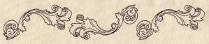 Carved Scroll Border_image
