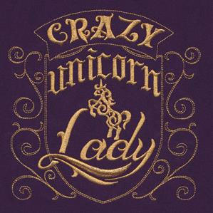 Crazy Unicorn Lady_image