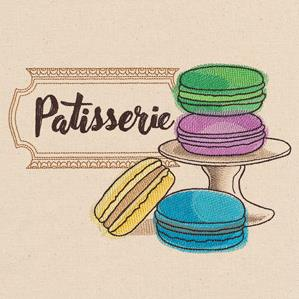 French Cafe - Macaroons_image